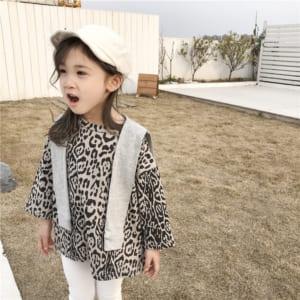 áo da báo trẻ em