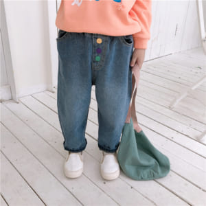 Quần Jean ống rộng em bé
