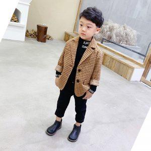 áo vest bé trai