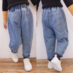 quần jean bé gái