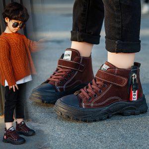 giày bé trai cổ cao
